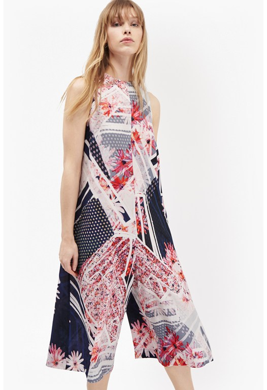 Samba Avenue Printed Jumpsuit