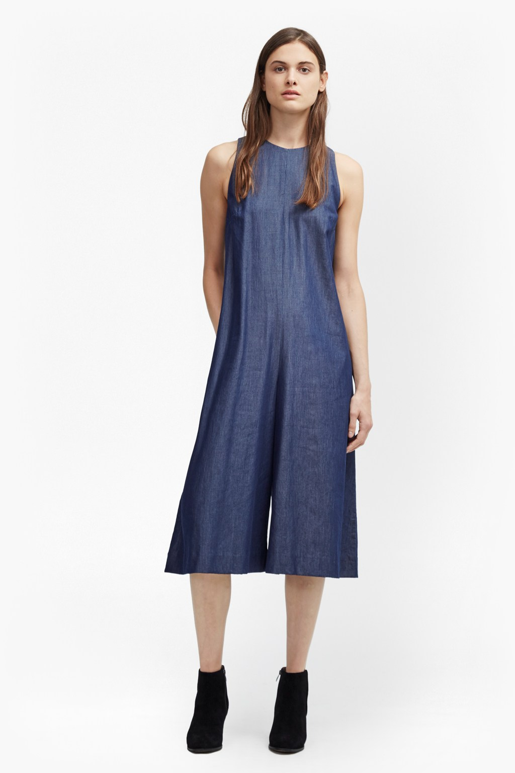 Dew Denim Tencel Jumpsuit
