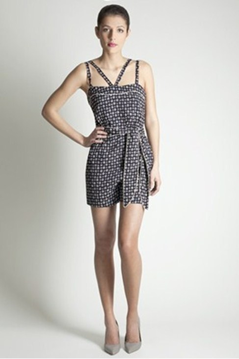 Summer Thistle Strappy Playsuit