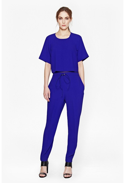 Arrow Crepe Jumpsuit