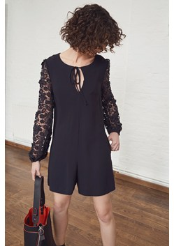 Malaita Lace Tie Neck Playsuit