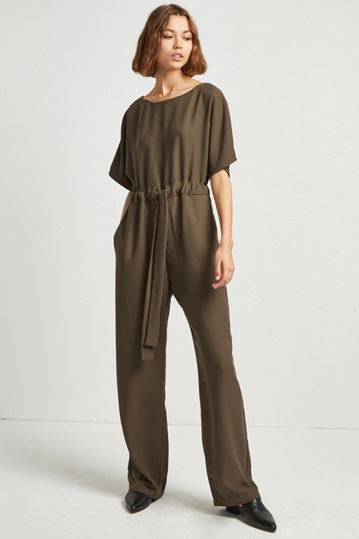 patras crepe long jumpsuit