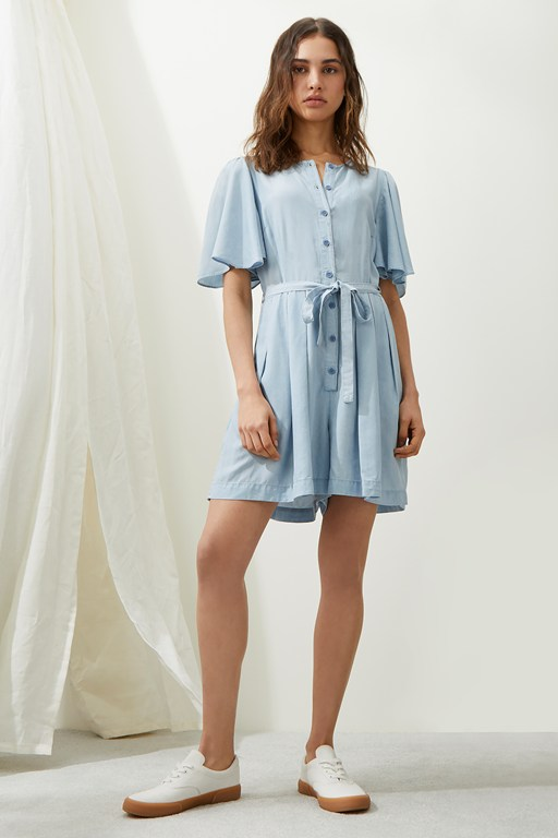 julienne lyocell playsuit