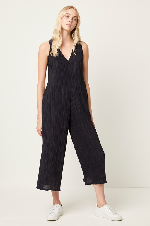 talissa pleated jumpsuit