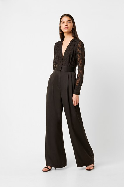 Annaleigh Satin Belted Jumpsuit
