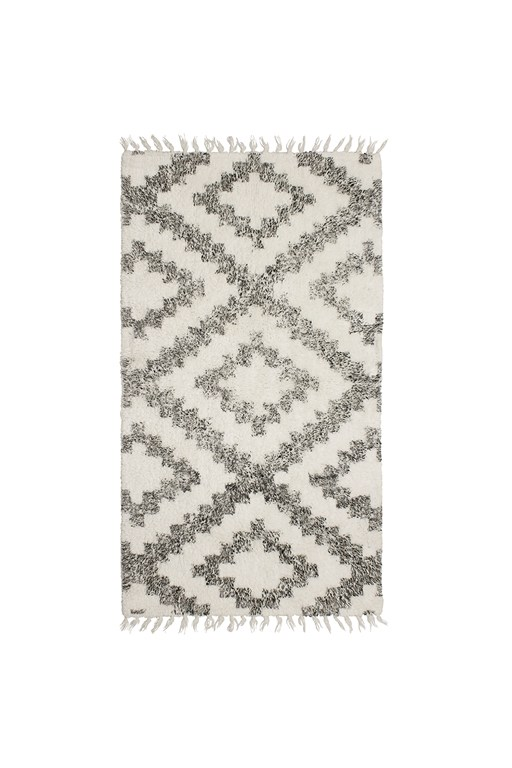 diamond moroccan rug - 27x45