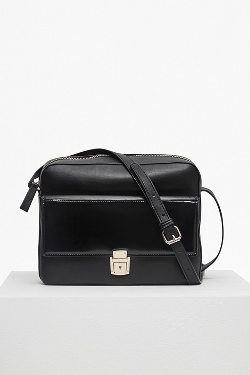 Complete the Look Clean Caroli Faux Leather Crossbody Bag