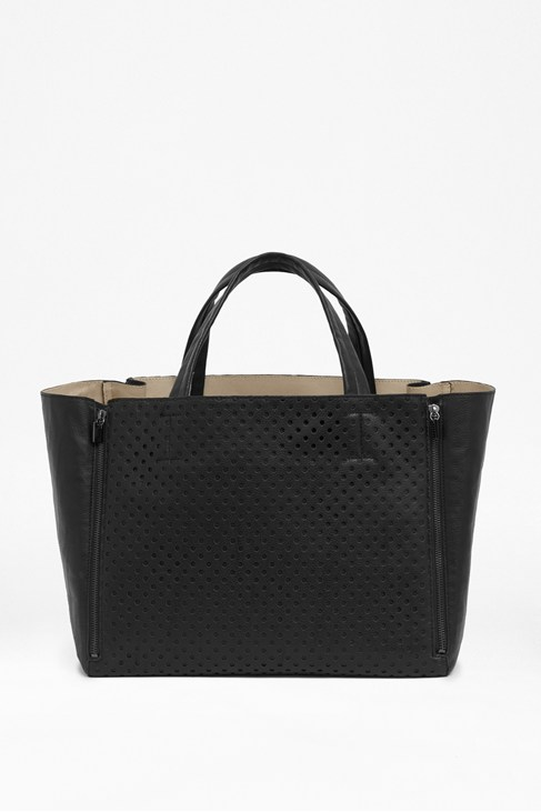 Spot On Perforated Shopper Bag