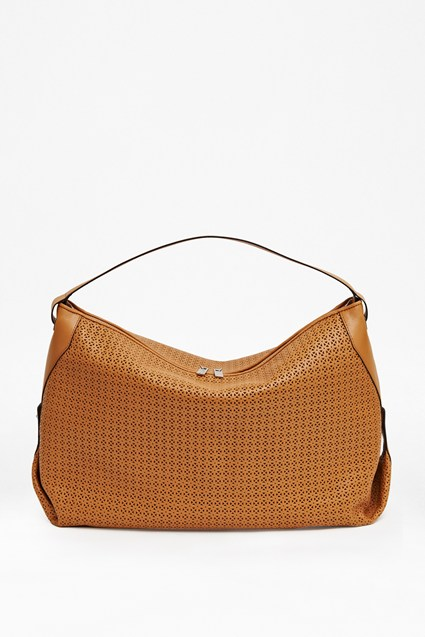Lottie Leather Shoulder Bag
