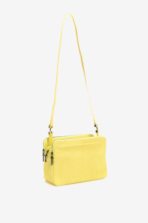 Tripple Zip Lg Crossbody