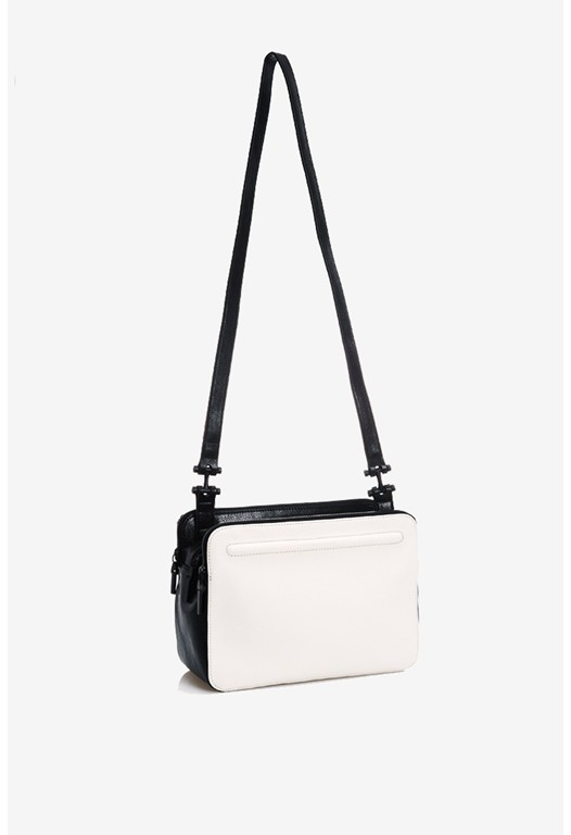 Triple Zip Crossbody Bag