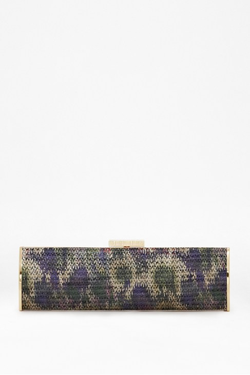 Madeline Printed Clutch