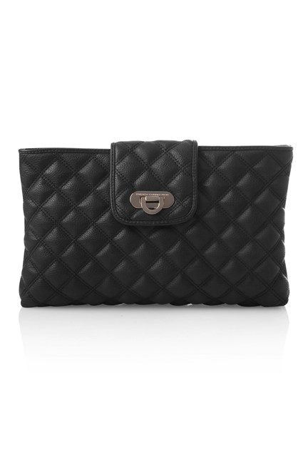 OXFORD QUILT CLUTCH
