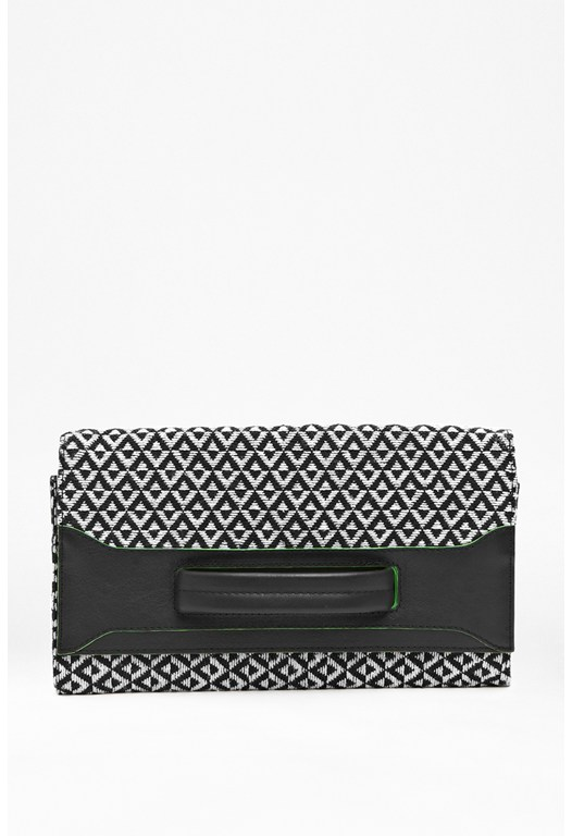 Maya Leather Wrist Clutch