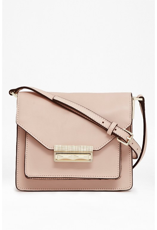 Dayna Leather Crossbody Bag