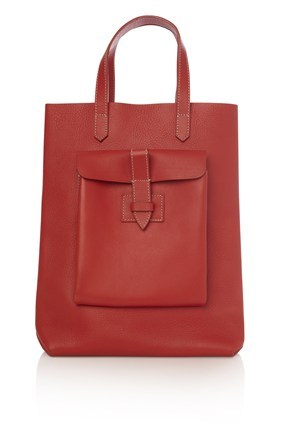 Leather Shopper Bag