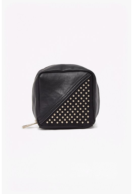 Pin Stud Make Up Bag