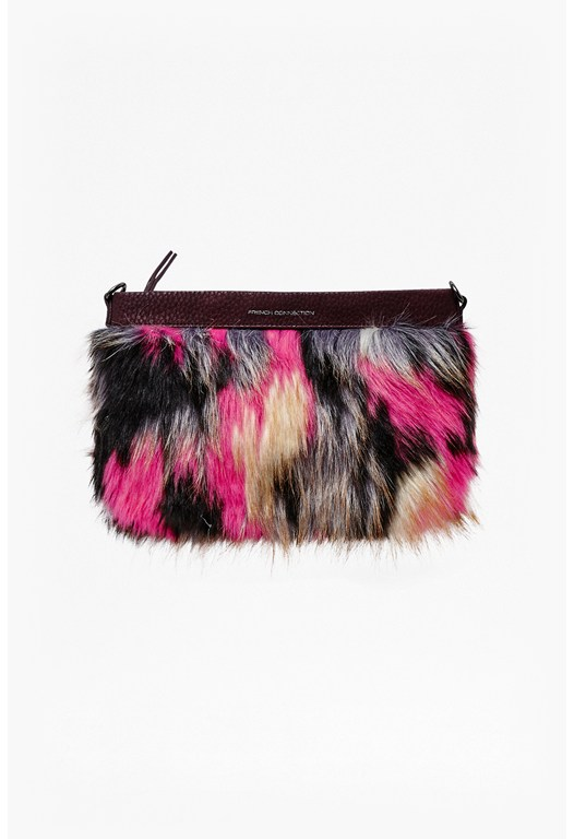 Georgina Faux Fur Shoulder Bag