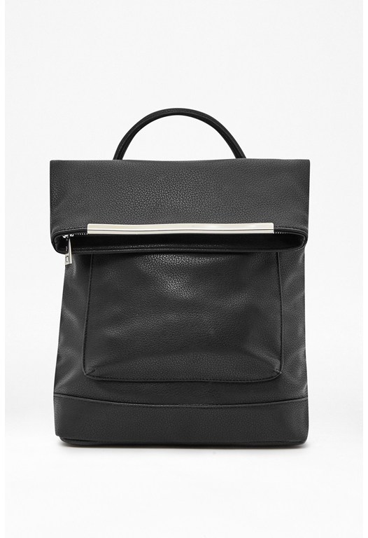 Carla Faux Leather Backpack