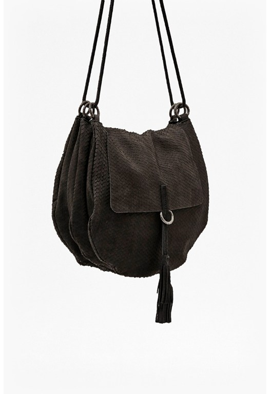 Lycee Leather Saddle Bag