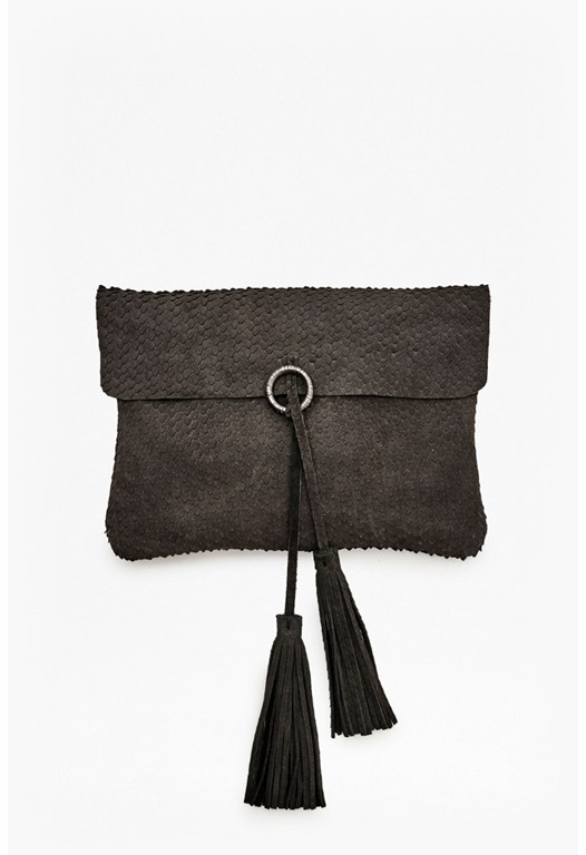 Loki Leather Clutch