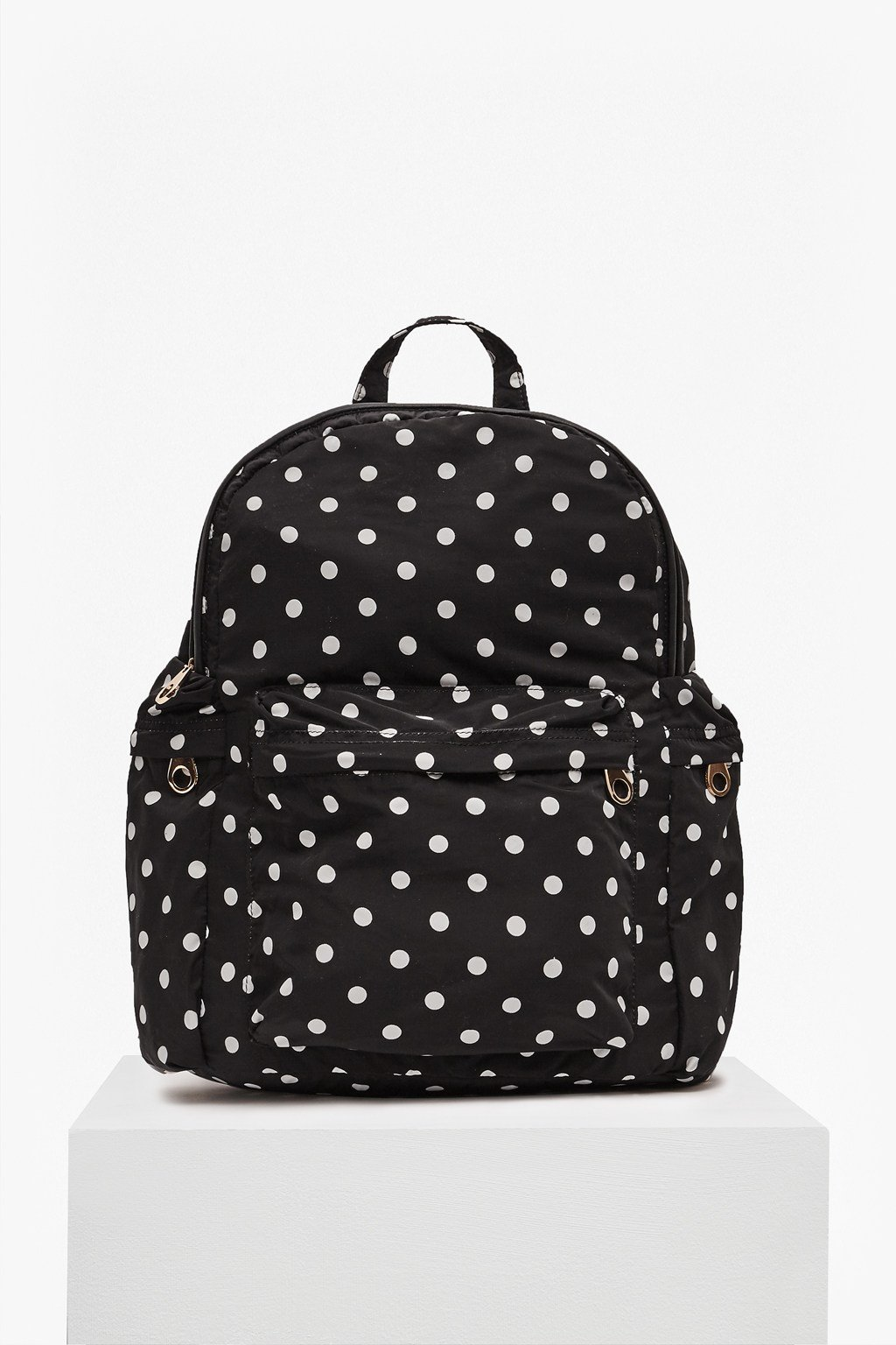 Tara Polka Dot Nylon Backpack