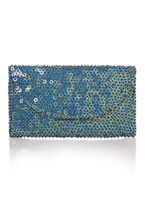 SAGERES SEQUIN CLUTCH
