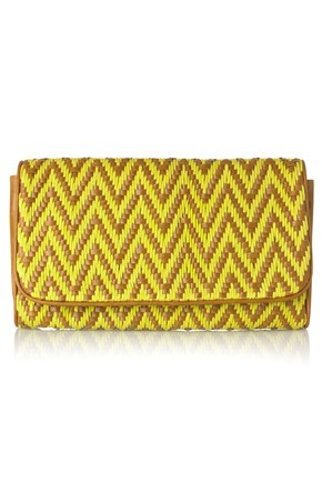 MULTI WEAVE BETTY CLUTCH