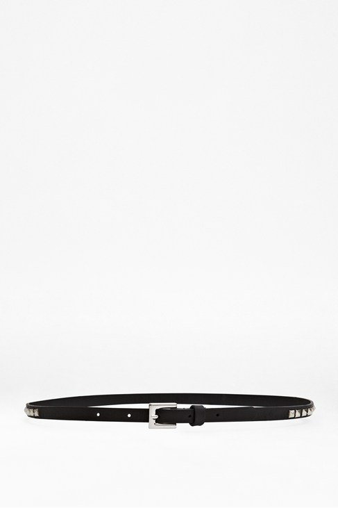 Rosa Studded Leather Belt
