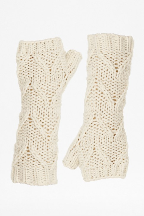 Tabitha Knitted Arm Warmers