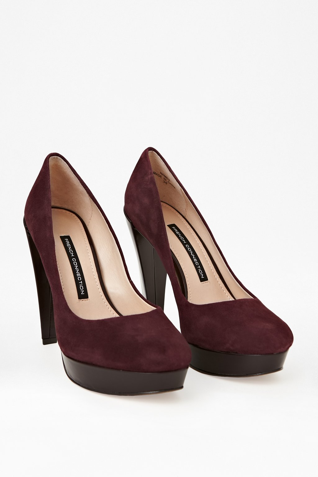 Nambia High-Heeled Leather Pumps $ 109.99
