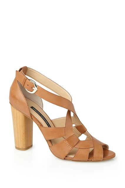 Petra Leather Heels