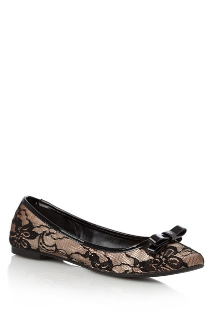 MARALIN BOW DETAIL BALLET PUMP