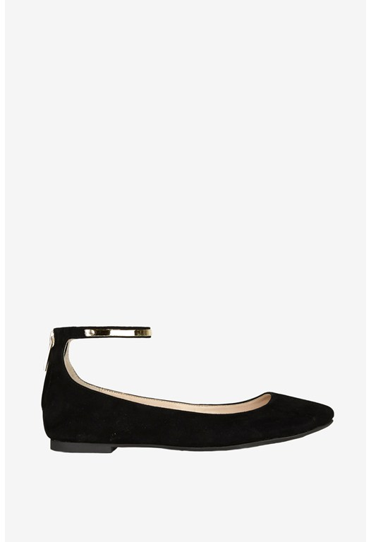 Jaymey Suede Pumps