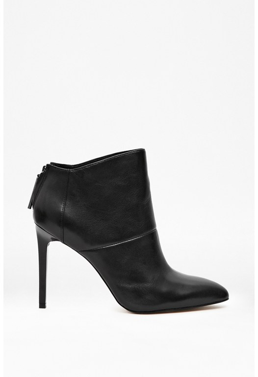Moriah Leather Ankle Boots