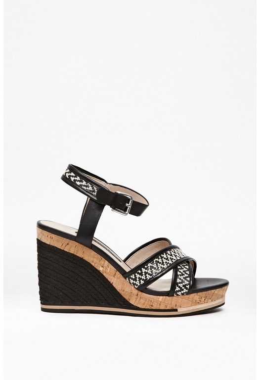 Lata Wedges Heels Sandals