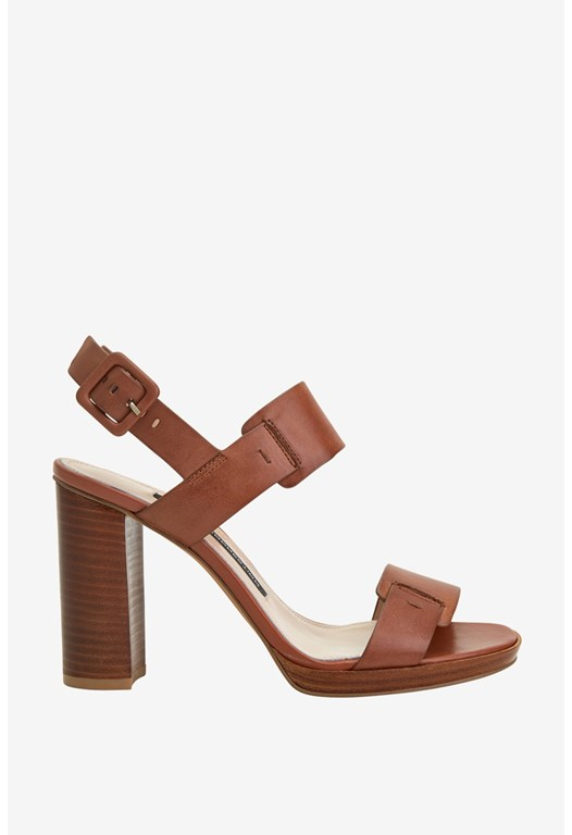 Toma High Heel Leather Sandals
