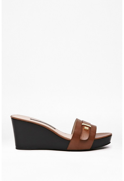 Sadelle Leather Wedge Sandals