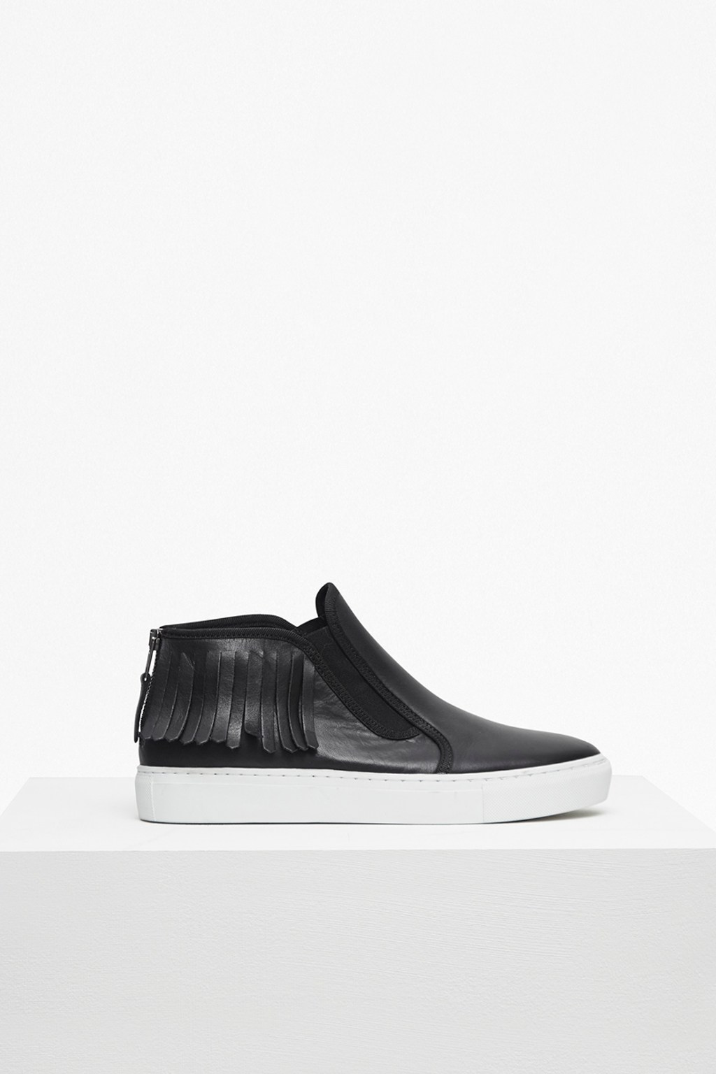 Simona Zip Back Moccasin Trainers