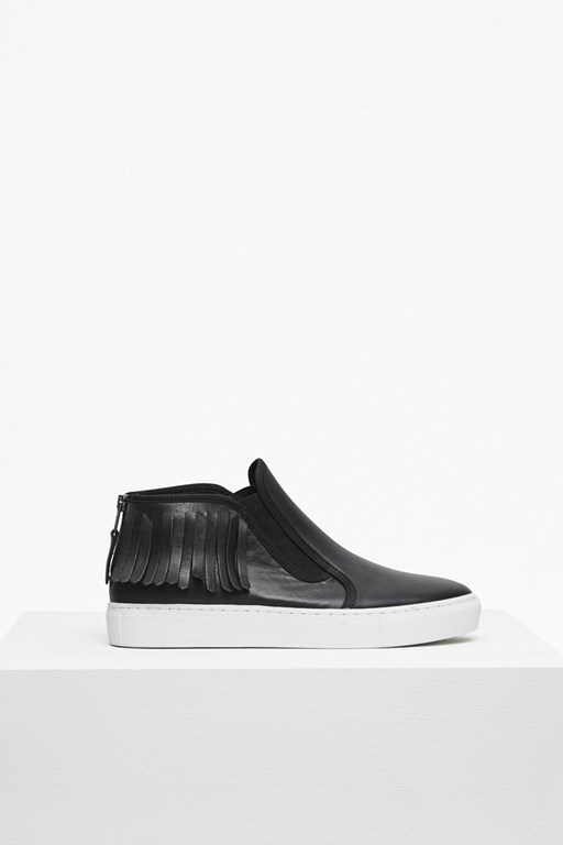 Complete the Look Simona Zip Back Moccasin Trainers