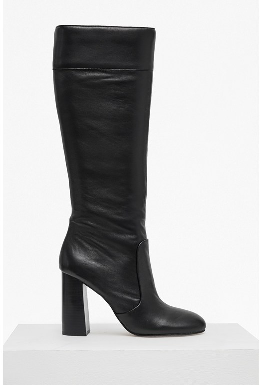 Candra Knee High Heeled Boots