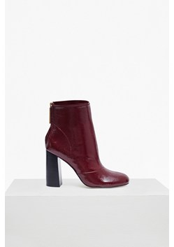 Capri Patent Heeled Ankle Boots