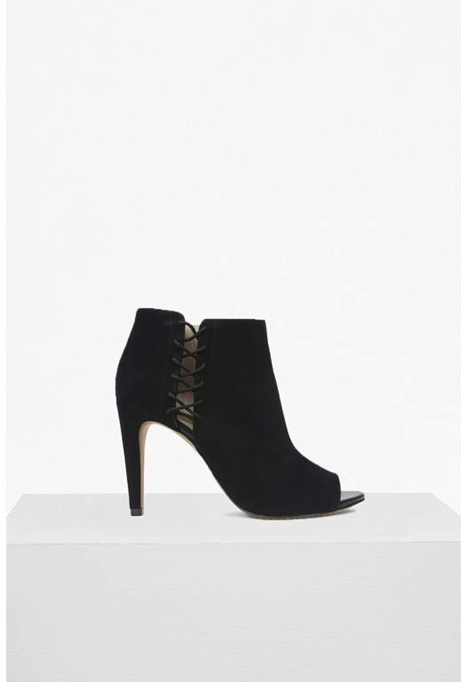 Quincy Heeled Open Toe Shoe Boot