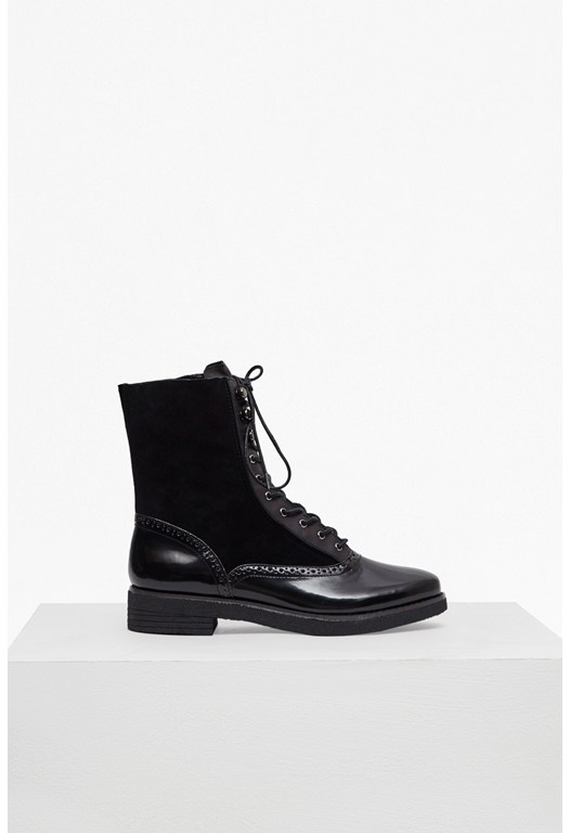 Vanja Lace Up Ankle Boots