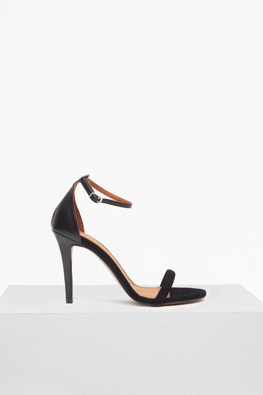 Complete the Look Elena Strappy Leather Heeled Sandals