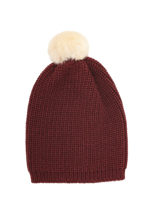 Ribbed Bobble Hat