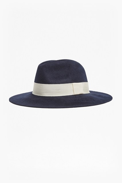 Brushed Felt Fedora