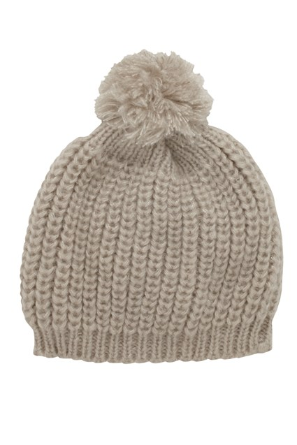 COOPER KNITS BOBBLE HAT