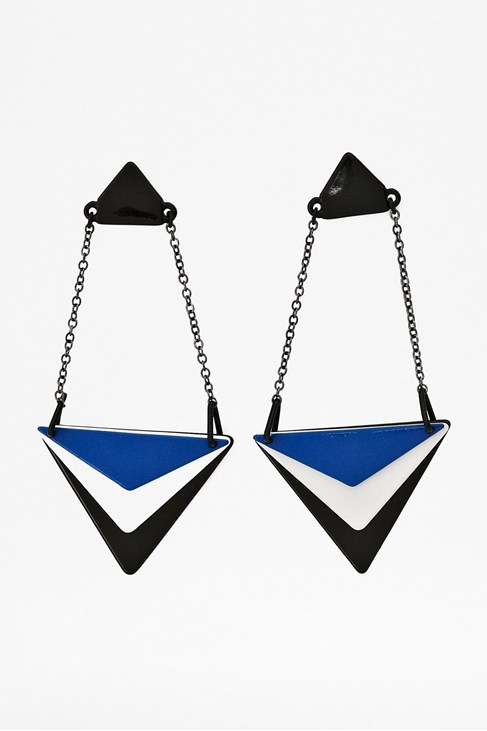 Graphic Drop Earrings
