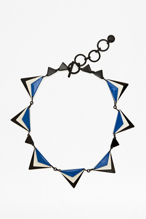 Graphic Collar Necklace